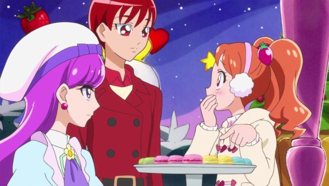 第 45 話「さよならゆかり!トキメキ☆スイーツクリスマス!」の場面2