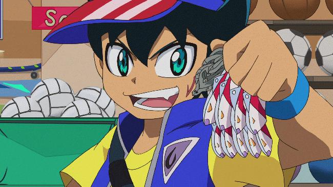 第 2 話「来たぞ盛魚町!ウオンモール爆釣大会! 」の場面1