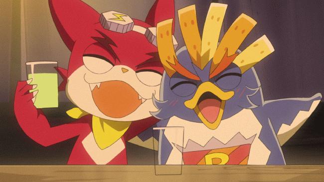 第 7 話「ポテペン&シュワ次郎!トッタのためのガチ特訓!」の場面1