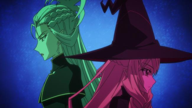 第 35 話「運命の魔女たち」の場面2