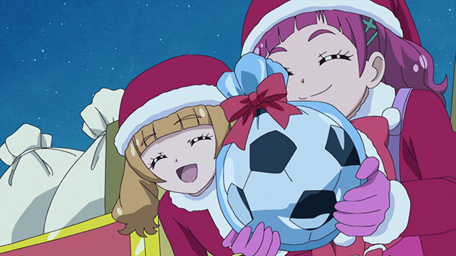 第 45 話「「みんなでHUGっと!メリークリスマス☆」」の場面2