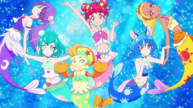 第 27 話「海の星!人魚になってスーイスイ☆」の場面2