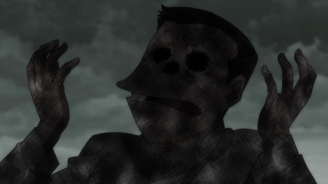 第 70 話「霊障 足跡の怪」の場面2