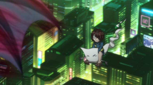第 79 話「こうもり猫のハロウィン大爆発」の場面3