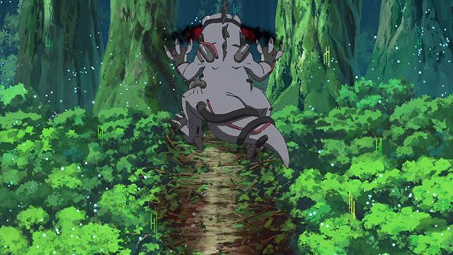 第 10 話「鋼鉄の超進化」の場面4