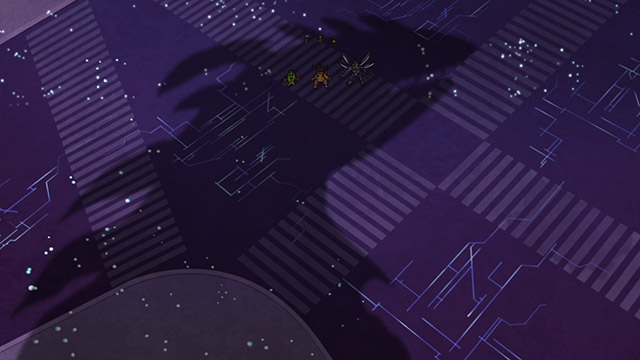 第 16 話「東京侵食 漆黒の影」の場面4