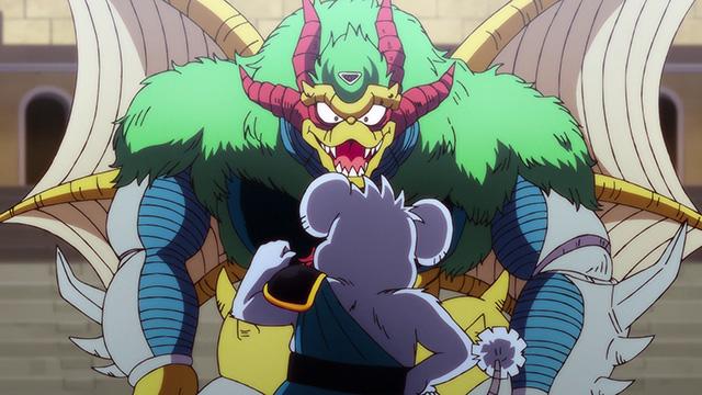 第 36 話「超魔生物対チウ」の場面2
