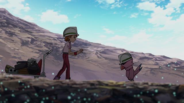 第 52 話「天舞 ホウオウモン」の場面4