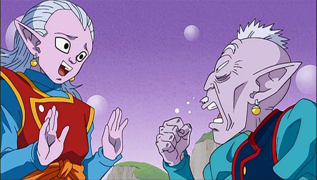 第 3 話「夢の続きはどこだ!? 超サイヤ人ゴッドを探せ!」の場面1