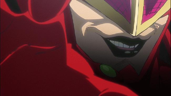 第 4 話「赤き死の仮面」の場面1