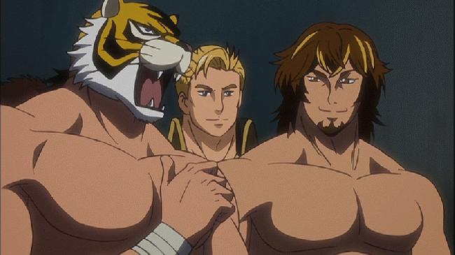 第 8 話「牙を剥く虎の穴」の場面1