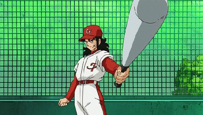 第 70 話「シャンパからの挑戦状!今度は野球で勝負だ!!」の場面2