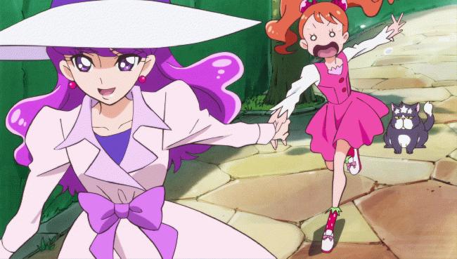 第 5 話「きまぐれお姉さまはキュアマカロン!」の場面1
