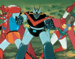 GREAT MAZINGER VS. GETTA ROBOT G A Fierce Battle in the Air