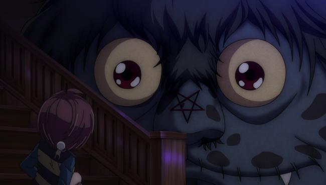 第 19 話「復活妖怪!?おばけの学校」の場面2
