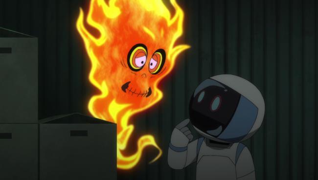 第 21 話「炎上!たくろう火の孤独」の場面2