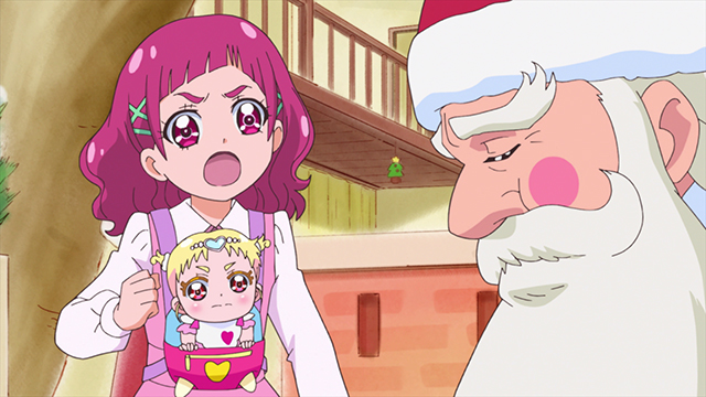 第 45 話「「みんなでHUGっと!メリークリスマス☆」」の場面1