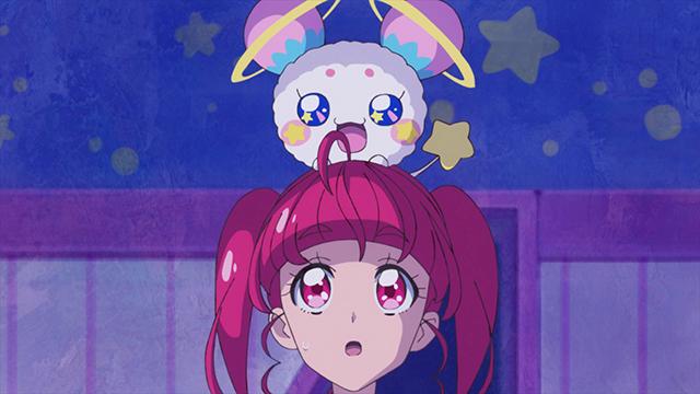 第 1 話「キラやば~☆宇宙に輝くキュアスター誕生!」の場面1