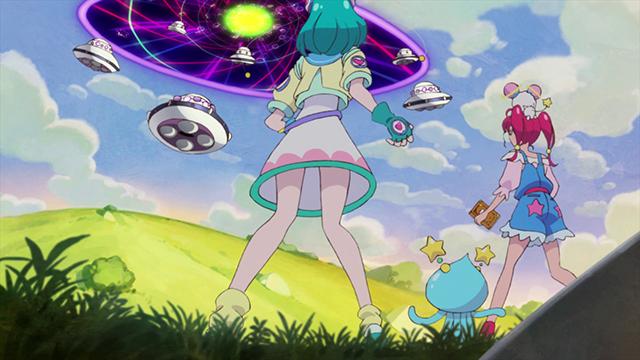 第 1 話「キラやば~☆宇宙に輝くキュアスター誕生!」の場面3