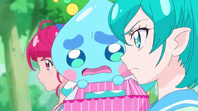 第 3 話「プリキュア解散!?スタープリンセスの力を探せ☆」の場面2
