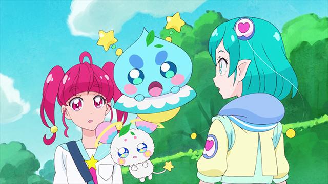 第 4 話「チャオ!きらめく笑顔☆キュアソレイユ誕生!」の場面1