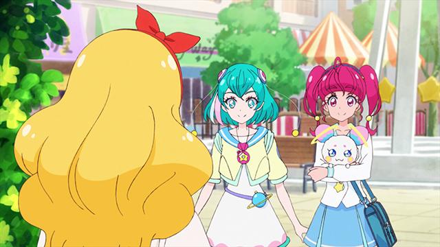 第 4 話「チャオ!きらめく笑顔☆キュアソレイユ誕生!」の場面3
