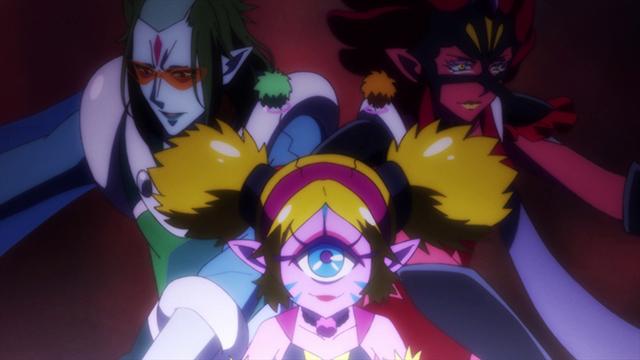 第 11 話「輝け☆サザンクロスの力!」の場面2