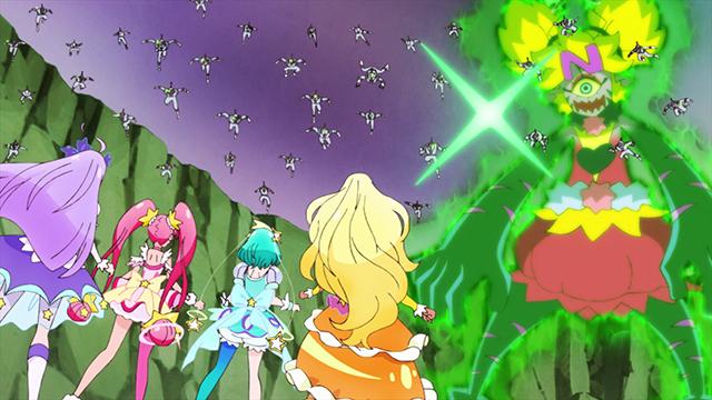 第 21 話「虹色のスペクトル☆キュアコスモの力!」の場面1