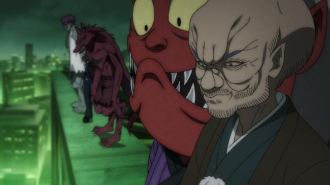 第 95 話「妖怪大同盟」の場面1