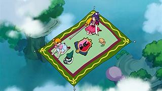 第 3 話「魔法商店街でショッピング!目覚めるルビーの力!」の場面1