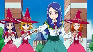 第 6 話「特訓!魔法の杖!先生はリコのお姉ちゃん!?」の場面1