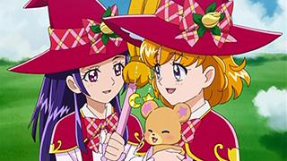 第 9 話「さよなら魔法界!?みらいとリコの最終テスト!」の場面1