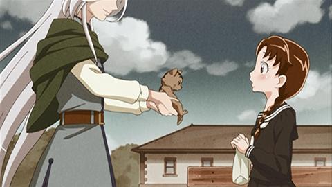 第 17 話「水晶さんおしえて!おばあちゃんの思い出の人」の場面1