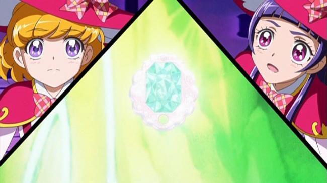 第 20 話「ドタバタでヤバスギ!魔法界に生まれたエメラルド!」の場面1