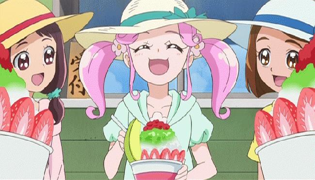 第 25 話「夏だ!海だ!大はしゃぎ!かき氷が食べた~いっ!」の場面1