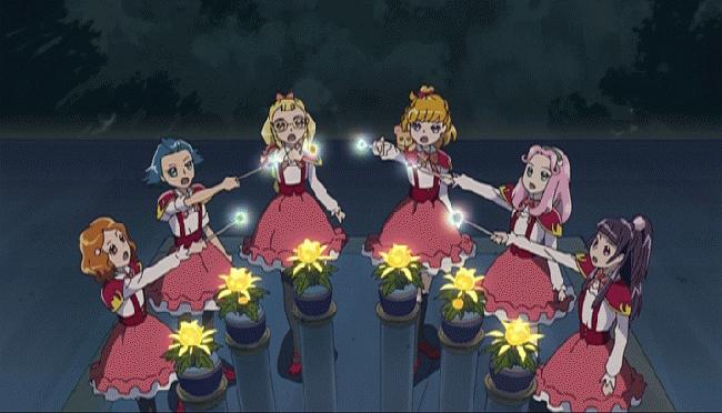 第 28 話「魔法界の夏祭り!花火よ、たかくあがれ!」の場面1