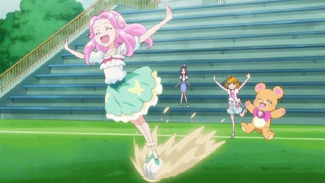 第 32 話「ワクワクいっぱい!はーちゃんの学校生活!」の場面1