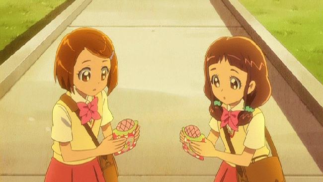 第 34 話「ドキドキ!初恋の味はイチゴメロンパン!?」の場面1