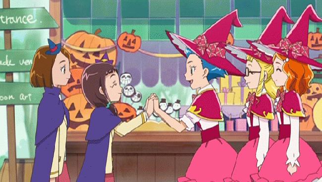 第 39 話「今日はハロウィン!み~んな笑顔になぁれ!」の場面1