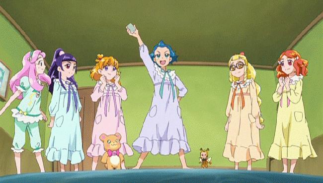 第 41 話「ジュエリーな毎日!魔法学校へ放課後留学!」の場面1