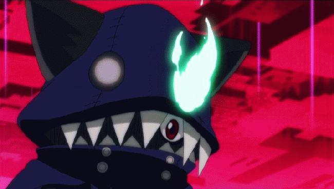 第 9 話「めざせ格付けナンバーワン! アプモン選手権 イン サイバーアリーナ!」の場面3