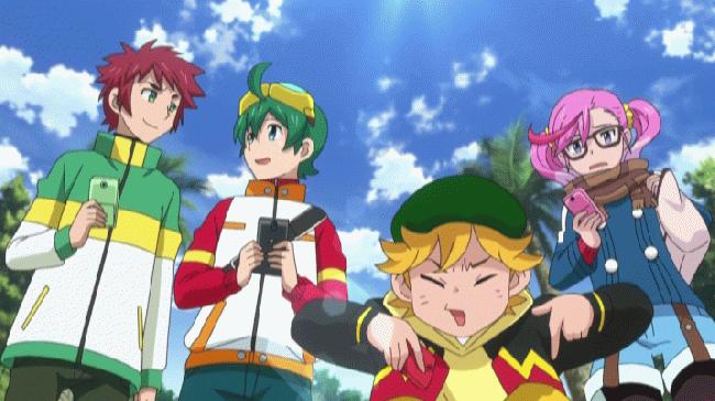第 18 話「ハルと勇仁の絆 止めろ!暴走レッシャモン!」の場面2