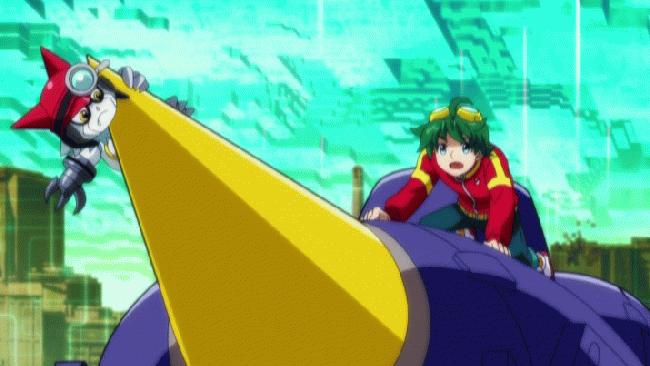 第 18 話「ハルと勇仁の絆 止めろ!暴走レッシャモン!」の場面3