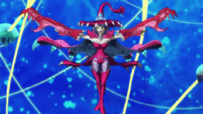 第 23 話「とりもどせセブンコードアプモン! 対決 極VS極!」の場面1