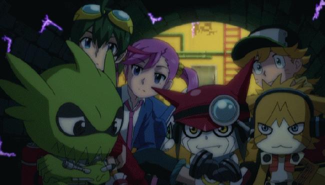 第 25 話「ついに潜入ディープウェブ! 謎のサイバー九龍!」の場面2