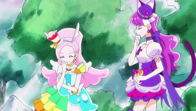 第 34 話「小さな大決闘!ねこゆかりVS妖精キラリン!」の場面4